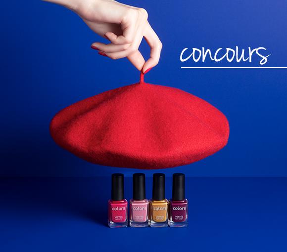 Jeux concours Colorii - Douce France - Nouvelle teinte